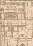 Oxford Wallpaper Facade 2604-21255 By Beacon House For Brewster Fine Decor